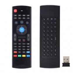 Teclado multifuncional con air mouse para smartbox o smartv