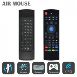 Fly mouse con teclado para tvbox smartv pc